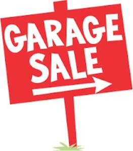 GARAGE SALE TOMORROW - BURLINGTON SATURDAY AUGUST 18