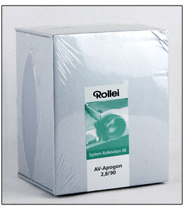 New-Rollei-AV-Apogon-90mm-F-2-8-lens-for-Rolleivision-66-Projector