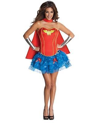 Secret Wishes Womens DC Comics Wonder Woman Halloween Party Costume