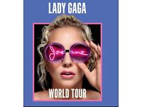 Lady Gaga VIP Package Tickets Manchester October 17th