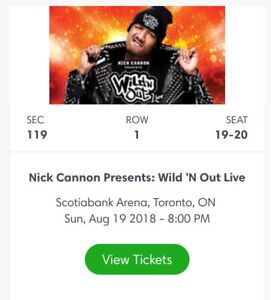 WILD'N OUT tickets!!