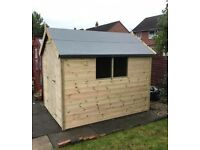 Tanalised Sheds