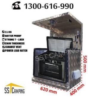 Aluminium Generator Ventilated L620*W400*H500 SST Camping Toolbox