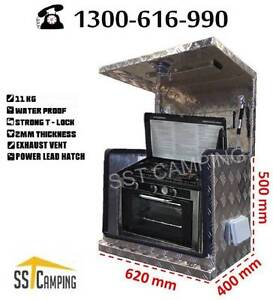 Aluminium Generator Ventilated L620*W400*H500 SST Camping Toolbox Clayton Monash Area Preview
