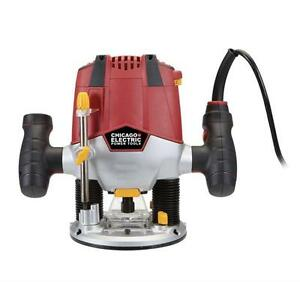 HOC  -  1-1/2 HP HEAVY DUTY PLUNGE ROUTER + FREE SHIPPING + 30 DAY WARRANTY