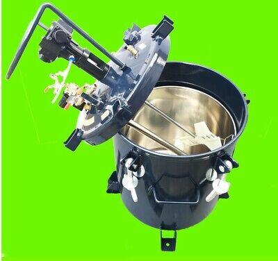 8gal Paint Mixer Agitator Stirrer With Tank Pneumatic Air High Pressure