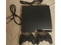 PS3 320GB 2CONTROLLERS 12GAMES not ps4,iphone