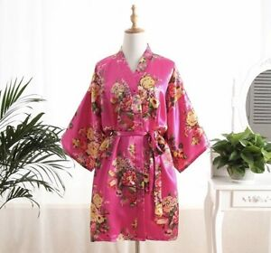 5 floral bridesmaid robes