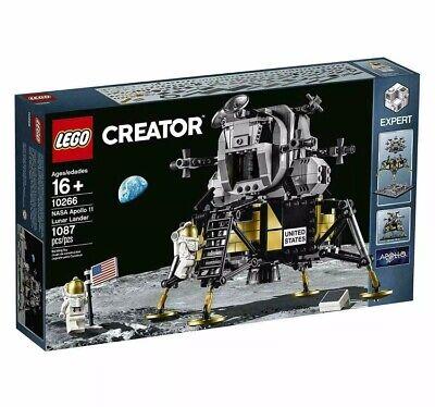 LEGO Creator Expert set 10266 Apollo 11 Lunar Lander! Brand New See Description