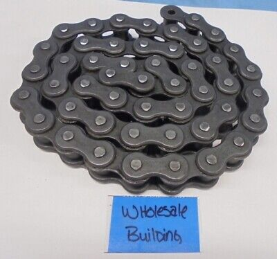 Diamond 100 Riveted Roller Chain 1-14 Pitch 1.61 Chain Width 5 Ft
