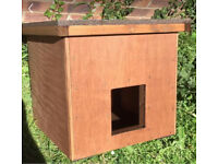 Dog cat kennel box