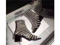 Chanel 2017 collection pearl shoes new in box rrp £2500!
