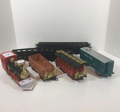 Joyin Classic Toy Express Train Set AS IS FOR PARTS ONLY See Info Christmas Tree