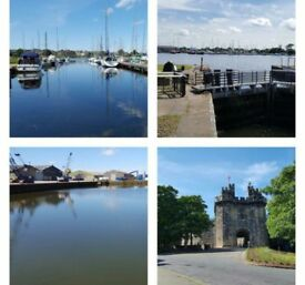 Static holiday home for sale, glasson dock, north west,part exchange welcome,call today!