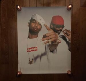 2006 Supreme Dipset Poster (Brand New, Authentic)