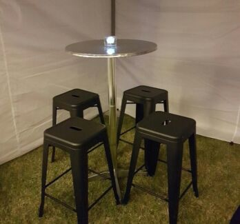 Bar Tables and Stools for hire