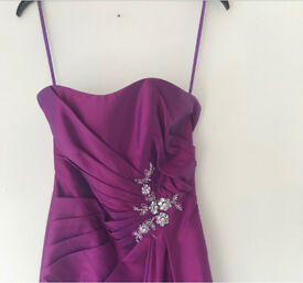 Burgundy/purple prom/bridesmaid dress