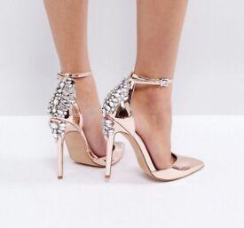 ASOS Palais heels size 3