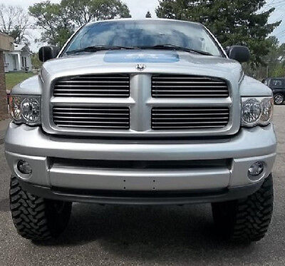 All Year Dodge Ram M FADED CENTER HOOD Stripe Decal Stripes 1500 2500 3500 02-15