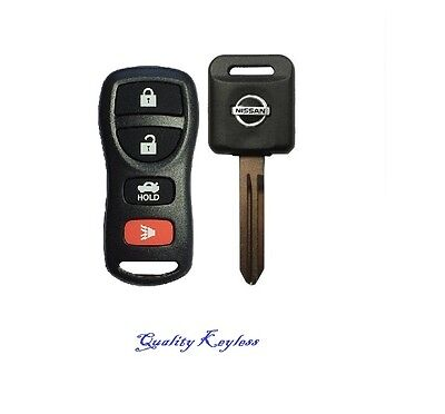 New 4b Replacement Keyless Entry Remote Fob Clicker + Transponder 46 Chip Key