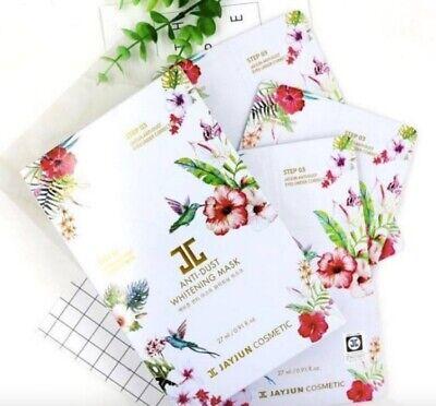 JAYJUN Korean Anti-dust Whitening Facial Sheet Pack of 10* 27ml - Made in Korea
