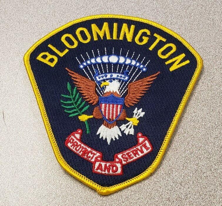 Bloomington Minnesota Police Shoulder Patch