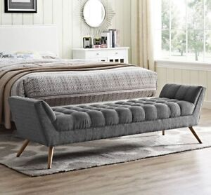 Brand New- Fiske bedroom living room luxury bench