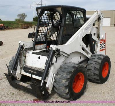Bobcat 873 Skid Steer Workshop Manual sent as a Download usato  Spedire a Italy