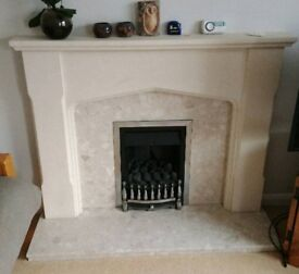 Gas Fire, Surround and Mantle