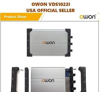 OWON VDS1022I Storage Virtual USB Isolation Oscilloscope 2+1 CH 25MHZ 100MSa/S