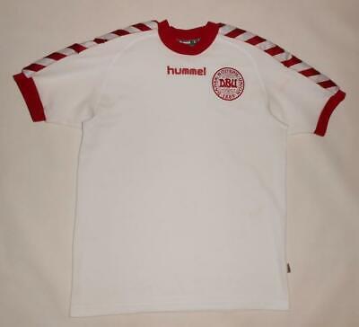 AWAY SHIRT HUMMEL DENMARK 2002-03 (S) Jersey Trikot Maillot Maglia Camiseta image