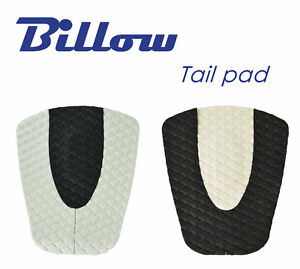 Diamond-Patterned-Traction-Pad-Surfboard-Tail-Pad-DECK-GRIP-BLACK-WHITE