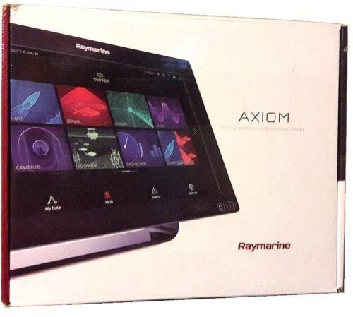 Raymarine Axiom 12 GPS MFD CHARTPLOTTER & Lighthouse 3 OS - NO Transducer