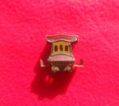 Vintage Toonerville Trolley Crackerjack Tin Toy Comic Character