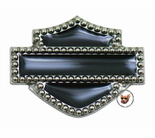 Harley Davidson Studded Bar and Shield Vest Pin Discontinued Item
