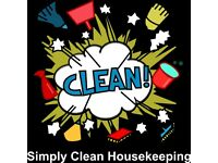 Fully experienced cleaner requires work in Lichfield and surrounding areas