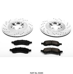 Colorado and Canyon Front rotors and pads Power Stop K5405