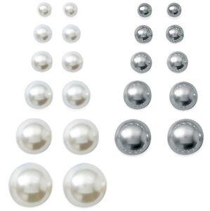 boucles d 39 oreilles femme perle de culture matiere taille couleur au choix neuf ebay. Black Bedroom Furniture Sets. Home Design Ideas