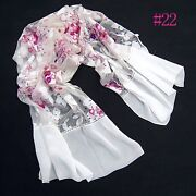 100% Silk Long Scarf
