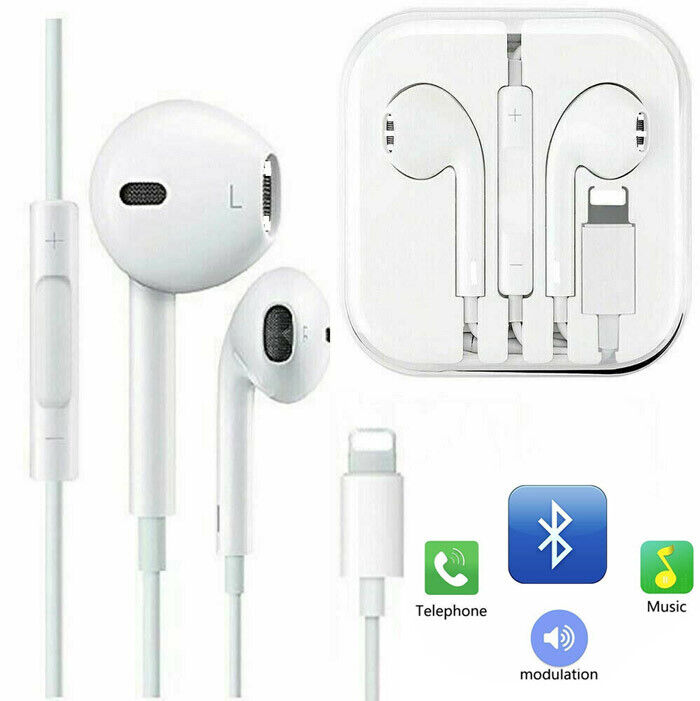 New High Quality Earphones Earbuds For iPhone XS Max XR 8 7s