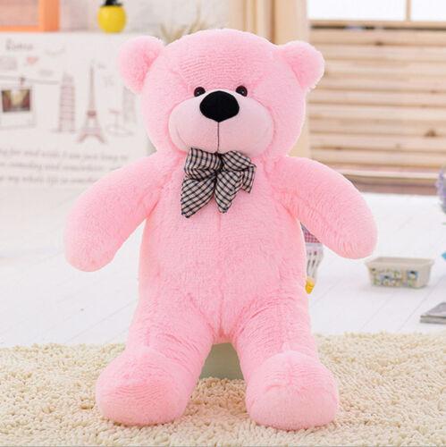 31in.Giant Big Huge Deep Brown Teddy Bear Plush Stuffed Soft Toys dolls XmasGift