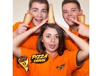 Pizza Cone Staff at Nottingham Beach