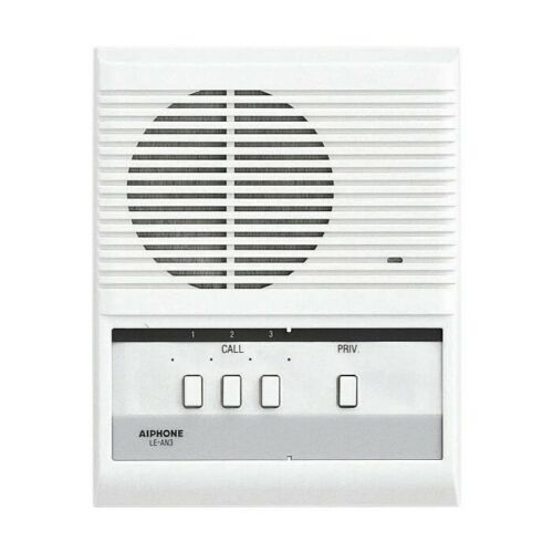 Aiphone LE-AN3 3-Call Audio Interior Sub Station with Privacy Button for LEF/LAF