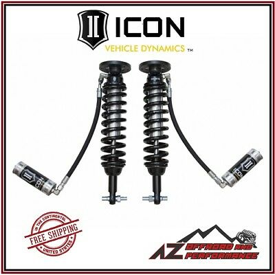 ICON Front Remote Reservoir Coil Over Shock Kit 2014 Ford F150 2WD