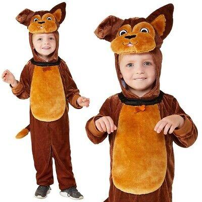 Baby & Kleinkinder Hund Maskenkostüm Kinder Welpe Anzug von Smiffys ()
