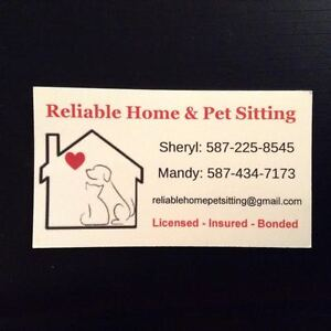 AIRDRIE HOME & PET SITTING SERVICES