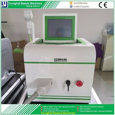 Best at home laser hair removal cost effective SHR 808nm machine 2 year