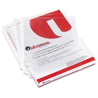 Universal Top-load Poly Sheet Protectors Nonglare Economy Letter 200box ...