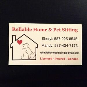 HOME & PET SITTING SERVICES IN AIRDRIE