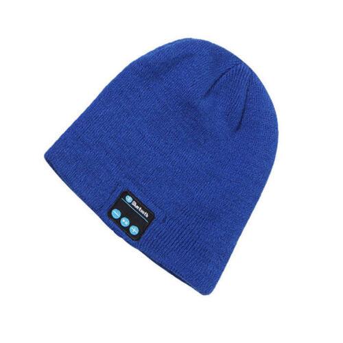 Warm Beanie Hat Wireless Bluetooth Smart Cap Headset Headphone Speaker Mic New L